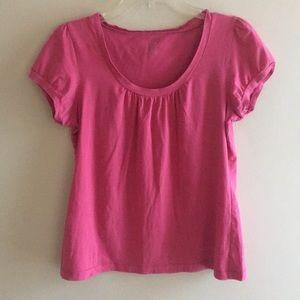 LOFT Pink Tee Size Petite L